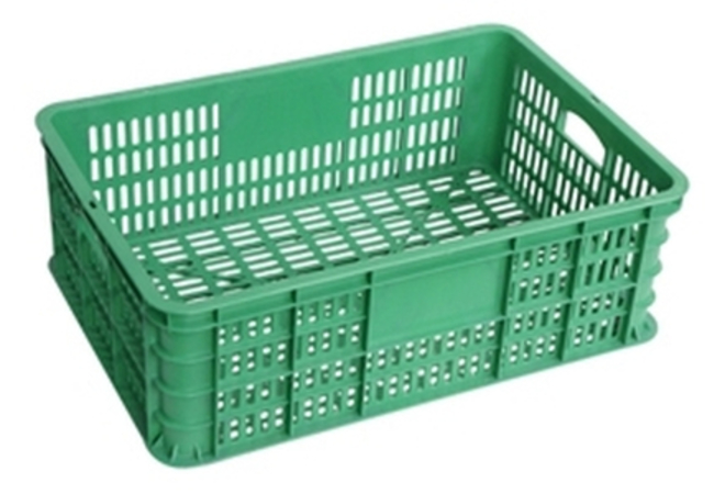 40 Litre Vented Stackable Draining Crate (600 x 400mm) image 1