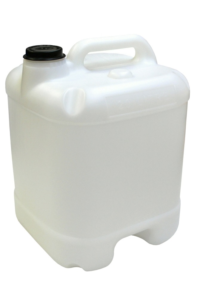 20 Litre Industrial Fortress Jerry Can 58mm Neck - NON DG image 0