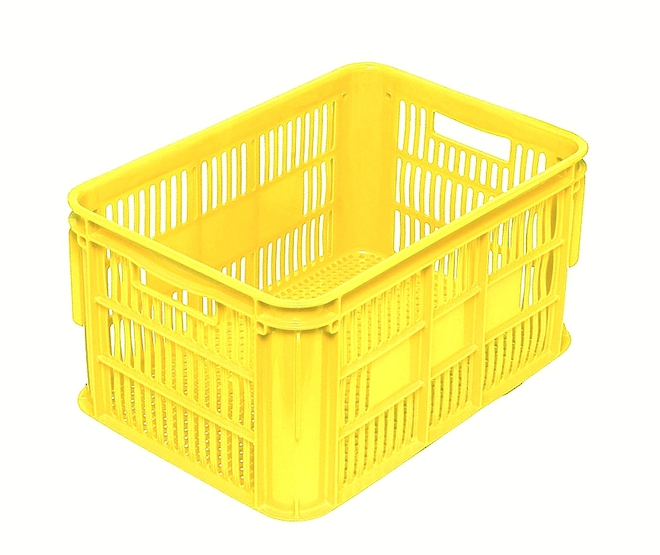 65 Litre Vented Stackable Draining Crate (610 x 420mm) image 4