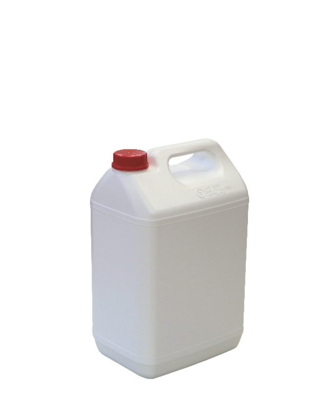 5 Litre Industrial Jerry Can DG - White image 0