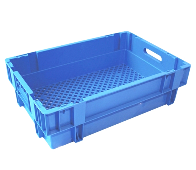 32 Litre Stack N Nest Crate Vented Base (600 x 400mm) image 0