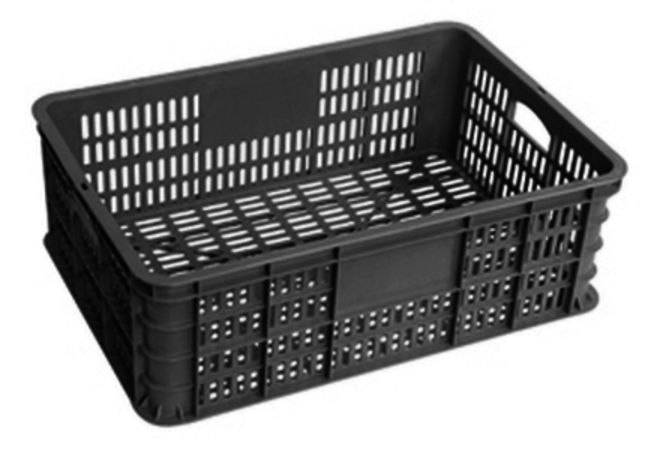 40 Litre Vented Stackable Draining Crate (600 x 400mm) image 0