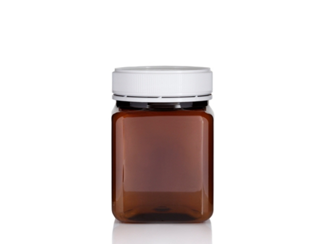 800ml Square PET Jar image 1