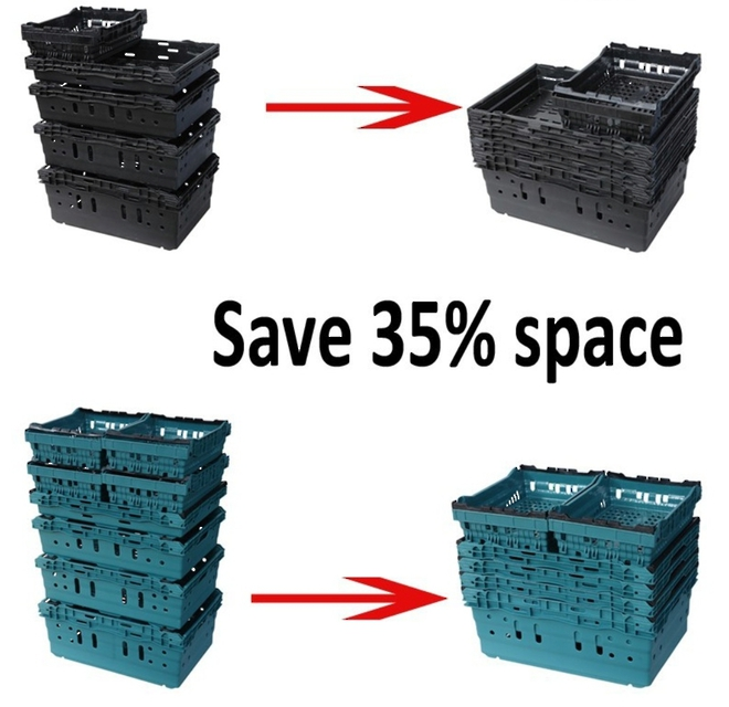 47 Litre Vented Produce Crate (600 x 400mm) image 1