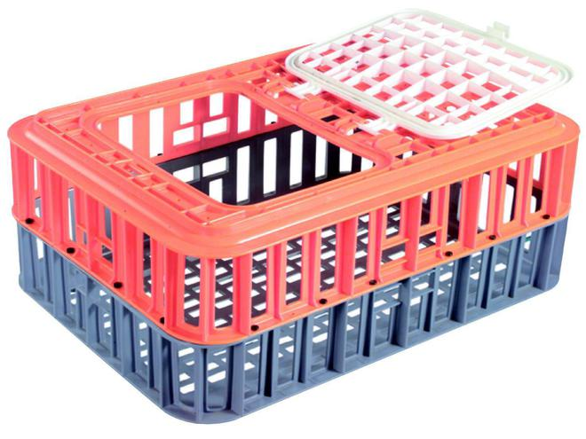 80 Litre Fowl Crate Complete image 0