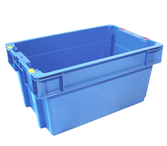51 Litre Stack N Nest Crate Solid Base (600 x 400mm) image 0