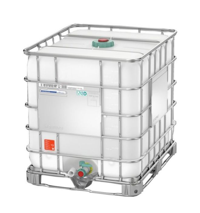 1000 Litre FG IBC DN50 Reconditioned image 1