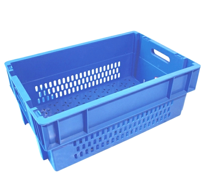 44 Litre Stack N Nest Crate Fully Vented (600 x 400mm) image 0