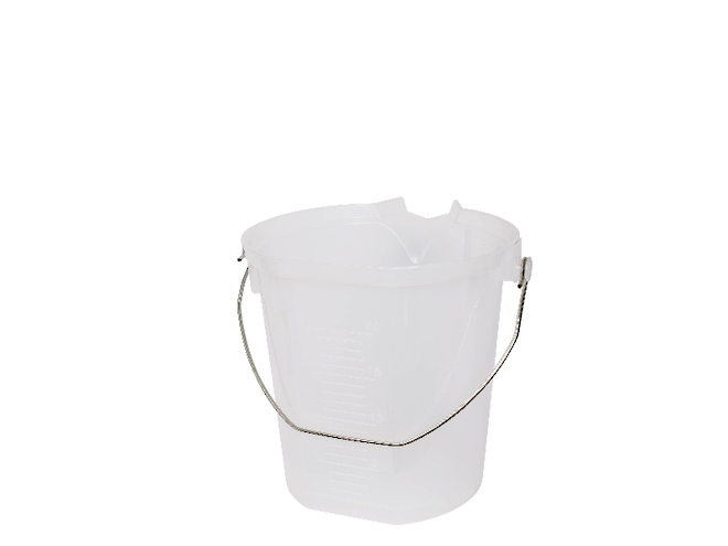 10 Litre Heavy Duty Calibrated Pail image 0