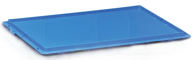 Drop on Lid for Stackable Tote Box (600 x 400mm) image 0