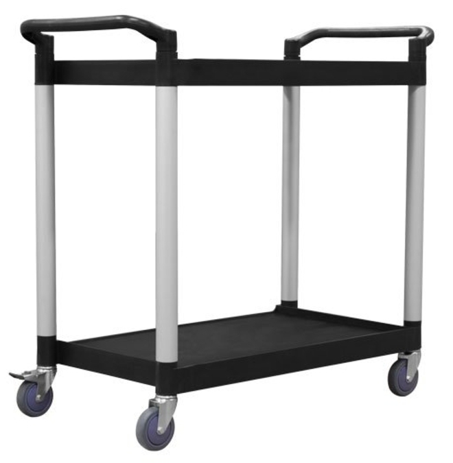2 Tier Service Trolley - 790 x 500mm image 0