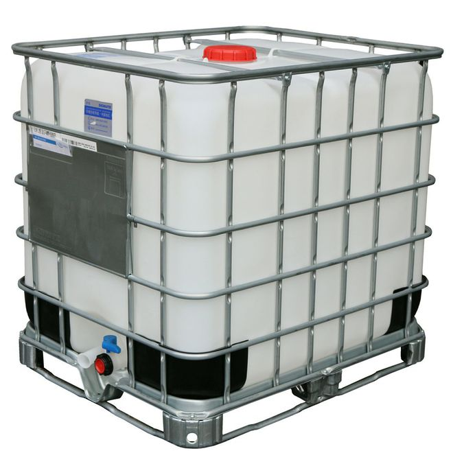 1000 Litre DG IBC DN50 Reconditioned image 0