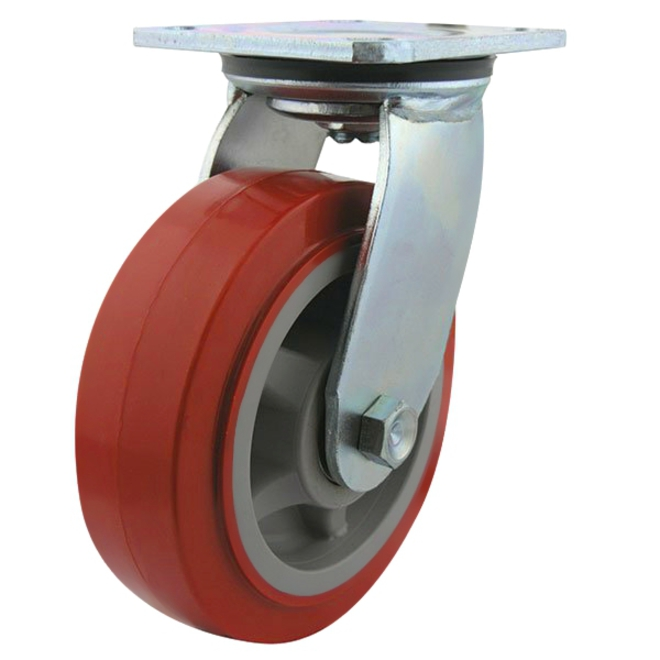 Swivel Castor with 150mm Polyurethane Wheel image 0