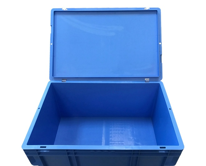 Hinge for Stackable Tote Lids - All Sizes image 3
