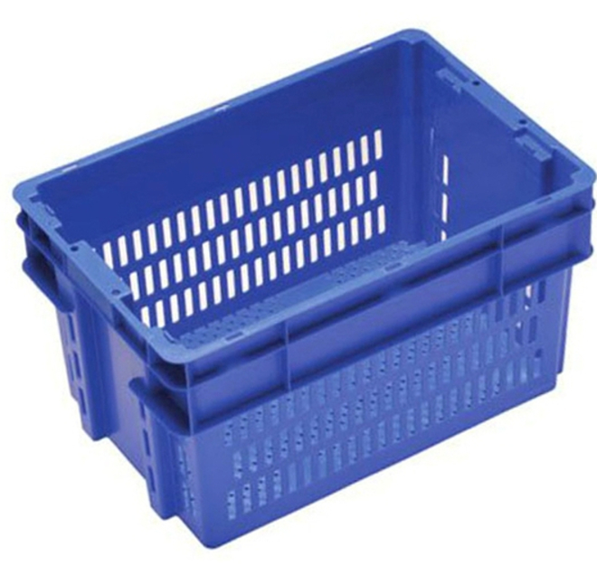 52 Litre Stack N Nest Crate Vented image 0