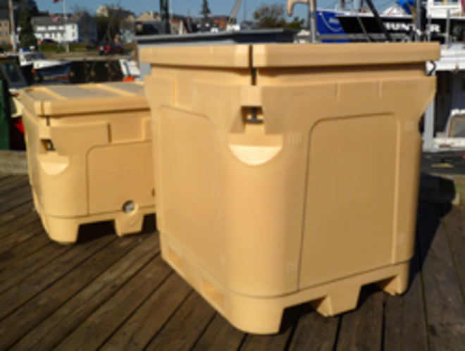 1000 Litre Atlantic Insulated Pallet Bin image 2