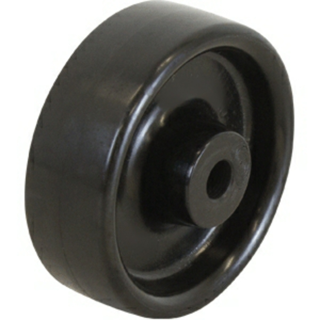 100mm HD Black Nylon Wheel image 0