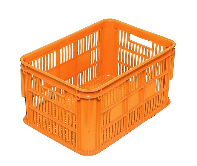 65 Litre Vented Stackable Draining Crate (610 x 420mm) image 0