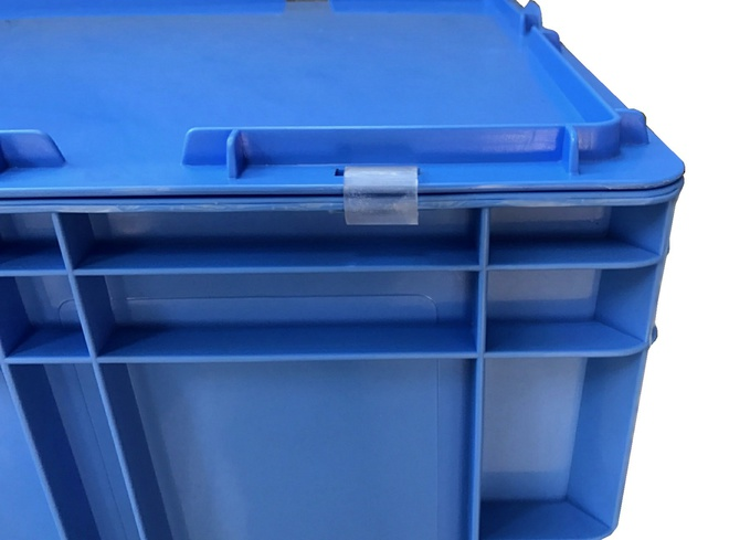 Hinge for Stackable Tote Lids - All Sizes image 2
