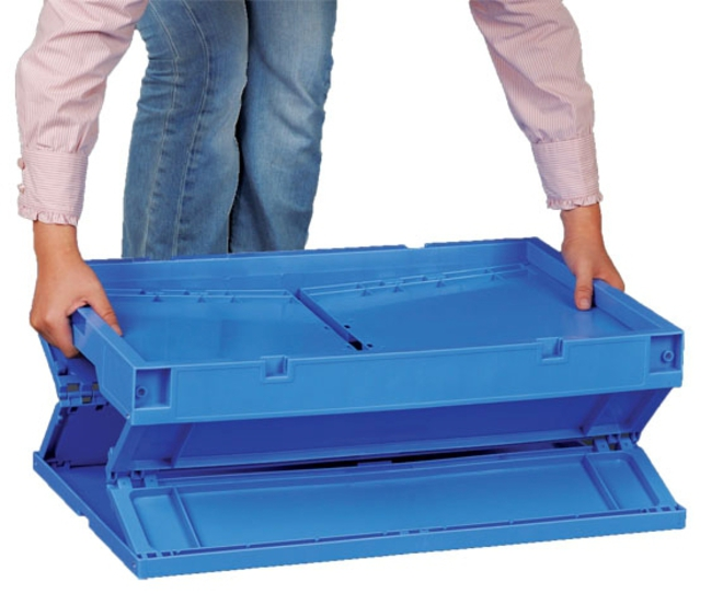 27 Litre Foldable Tote Box (400 x 300mm) image 2