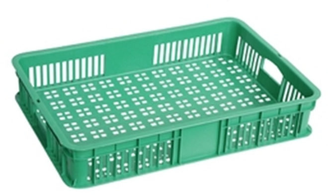 20 Litre Vented Stackable Draining Crate (600 x 400mm) image 1