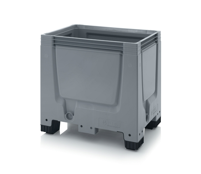 250 Litre Solid Pallet Bin with Feet image 0
