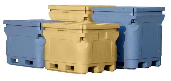 1000 Litre Atlantic Insulated Pallet Bin image 1