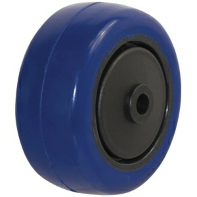 75mm Blue Rebound Rubber Wheel image 0