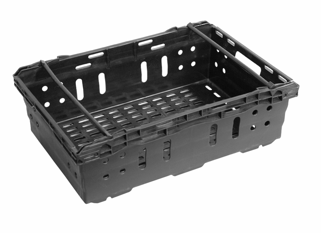 35 Litre Vented Produce Crate (600 x 400mm) image 0