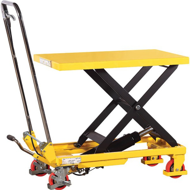 200Kg Single Scissor Lift table image 0