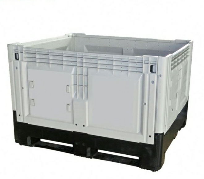 700 Litre Solid Collapsible Pallet Bin image 0