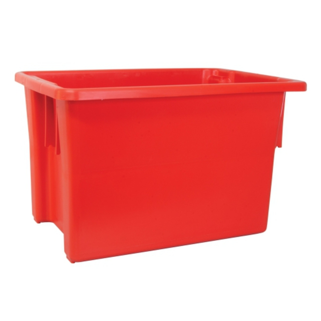 68 Litre Stack N Nest Crate (645 x 413mm) image 2