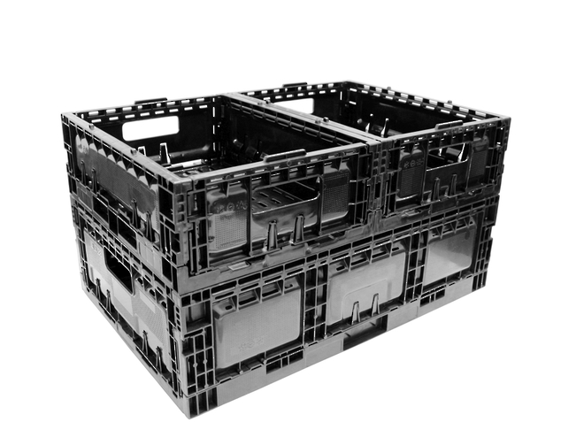 12 Litre Foldable Produce Crate (385 x 290mm) image 1