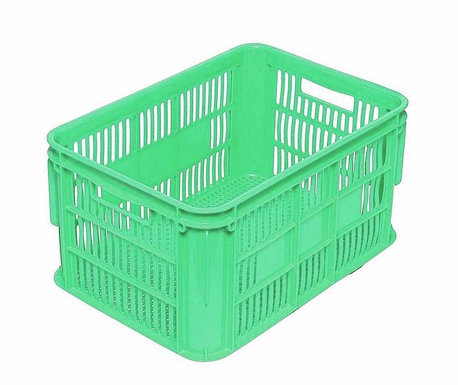 65 Litre Vented Stackable Draining Crate (610 x 420mm) image 2