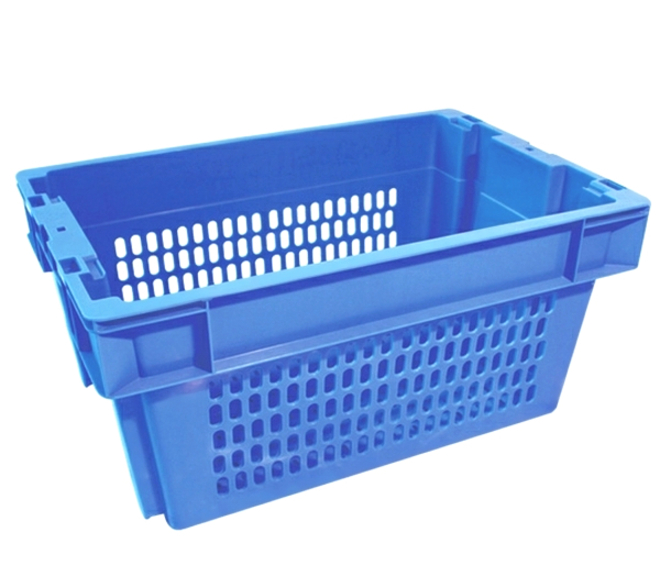 51 Litre Stack N Nest Crate Fully Vented (600 x 400mm) image 0