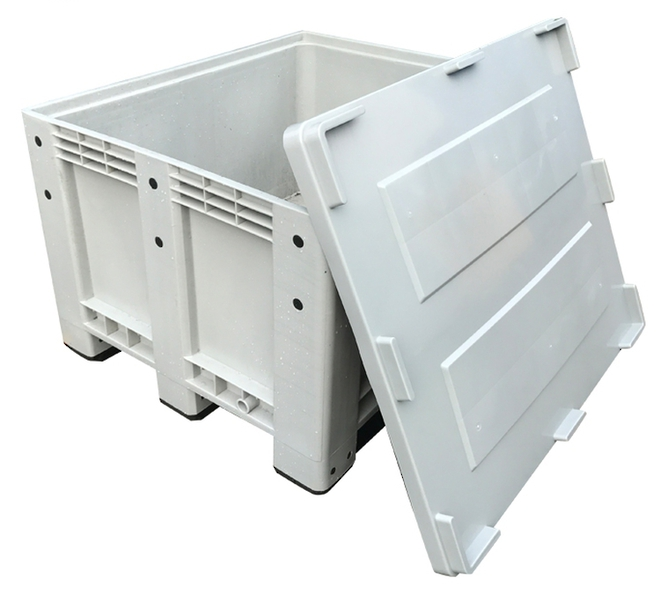 Drop on Lid for COPACK CPB 600 Pallet Bins image 1
