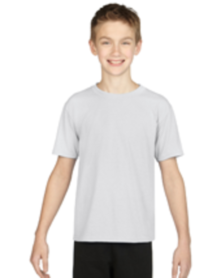 White Performance Youth T image 0