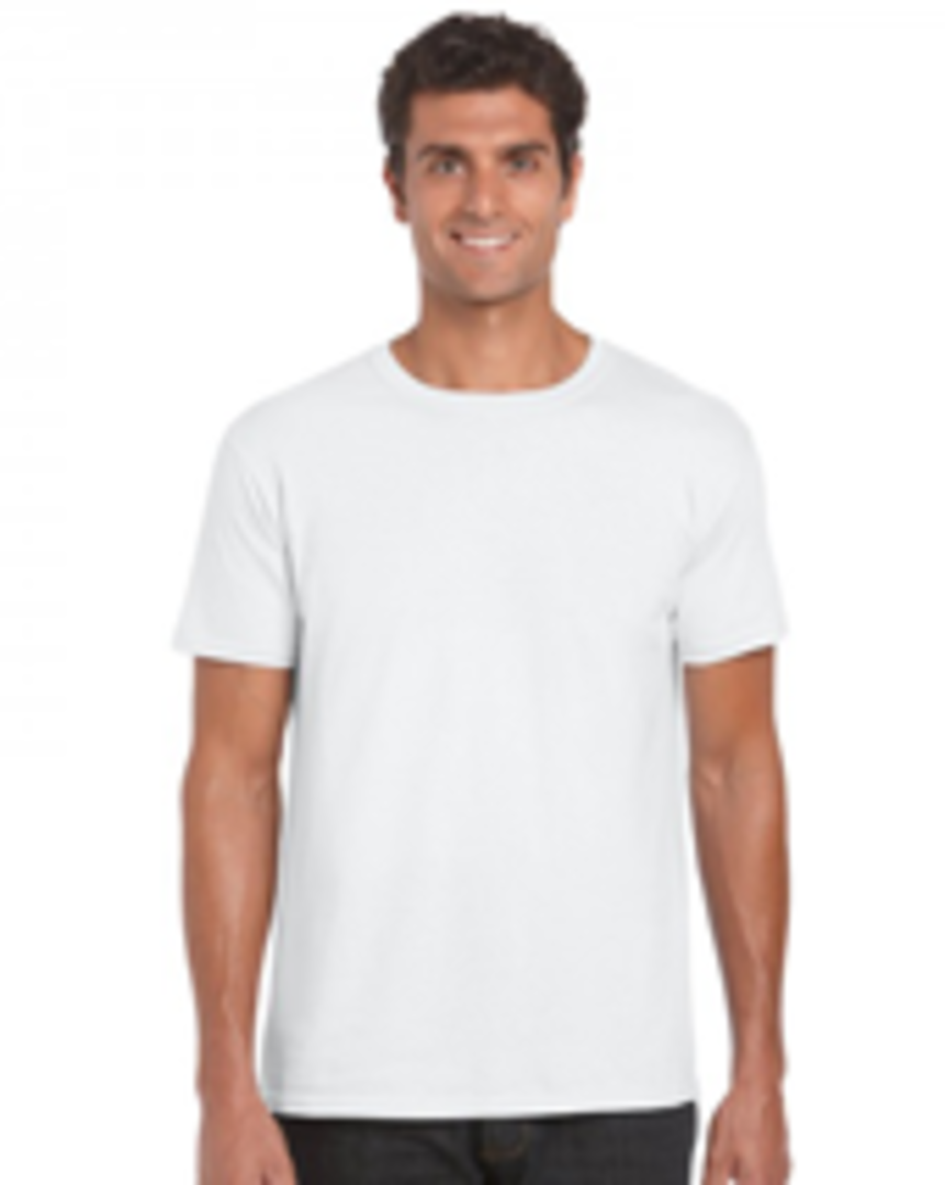 White Soft Style Adult T image 0