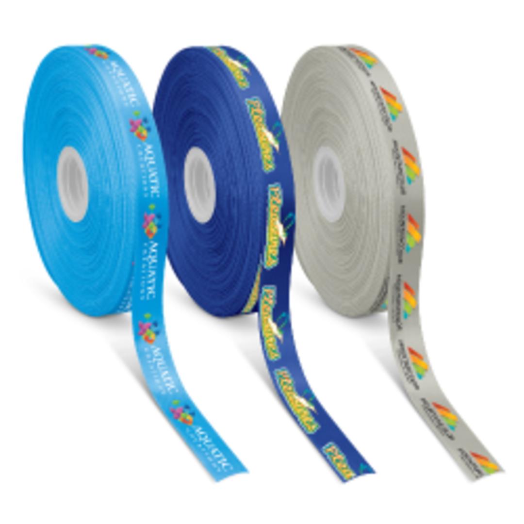 Personalised Ribbon 25mm - Full Colour image 0