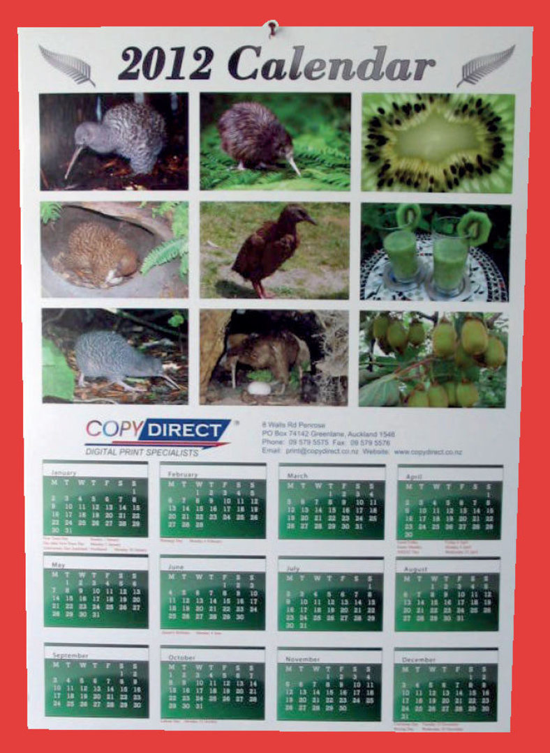 A3 Annual Wall Calendar image 0