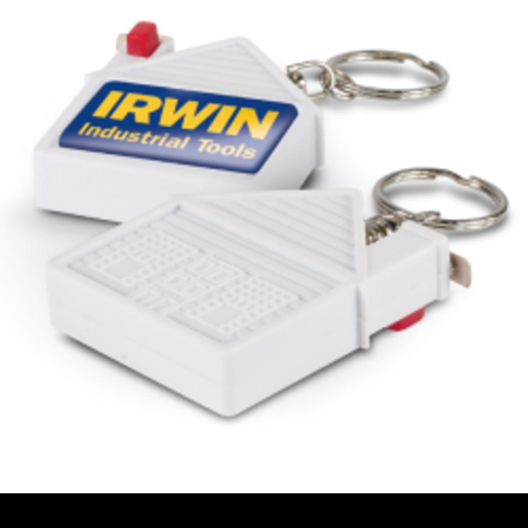 House Tape Measure Key Ring image 0