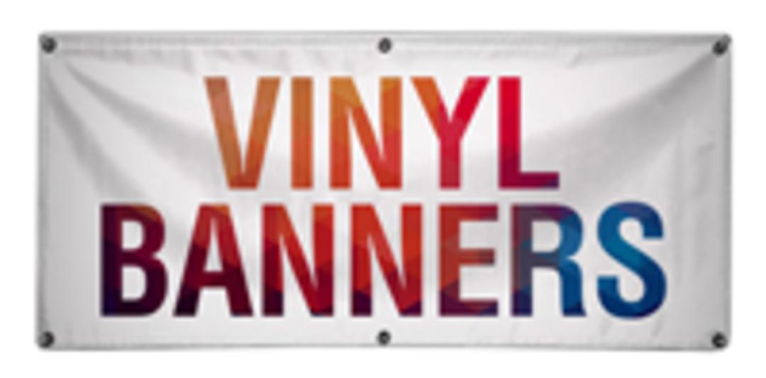Vinyl Banners image 0