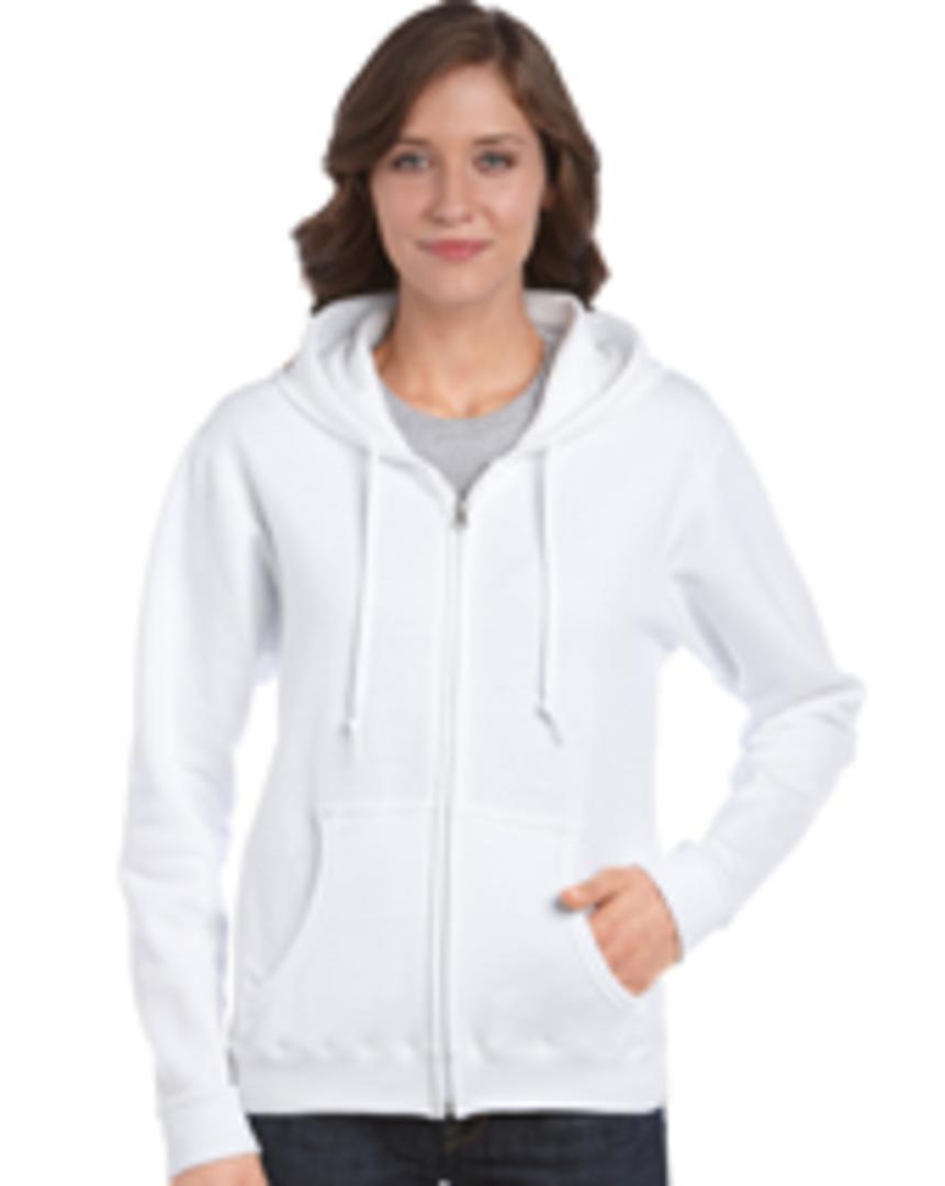 CDG18600FL - Heavy Blend Missy Fit Full Zip Hooded Sweatshirt image 0