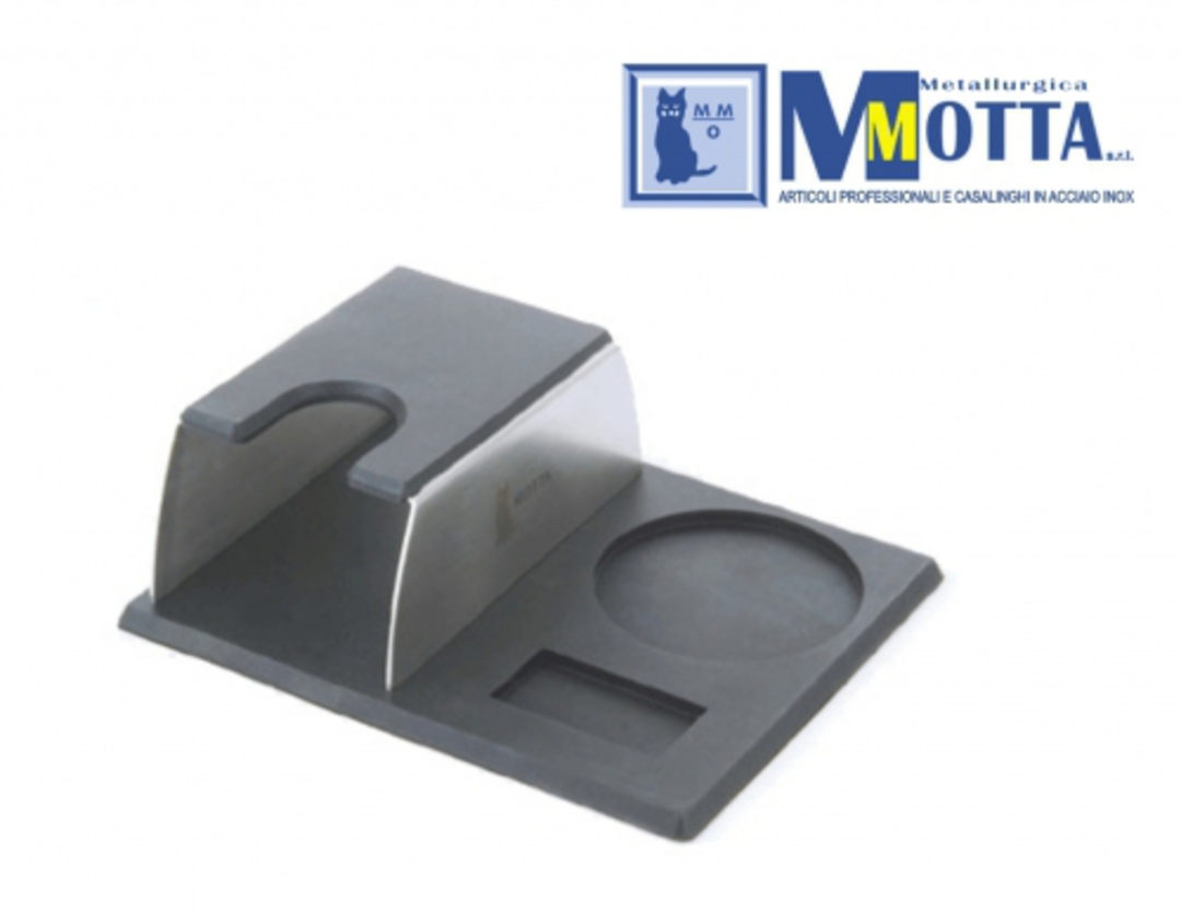 Motta Tamper Stand and Mat image 0