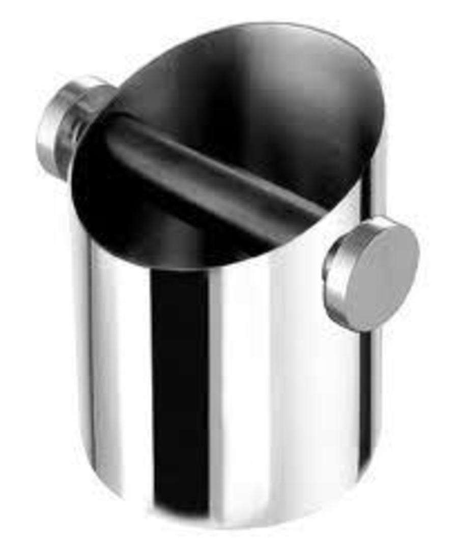 Motta Knock Box - Stainless 110mm image 0