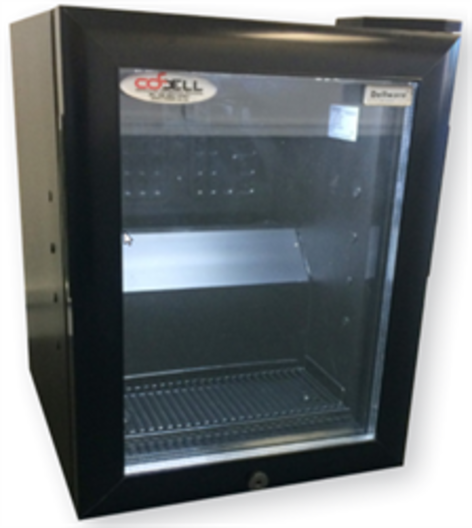 Dellware Milk Fridge with Glass Door image 0