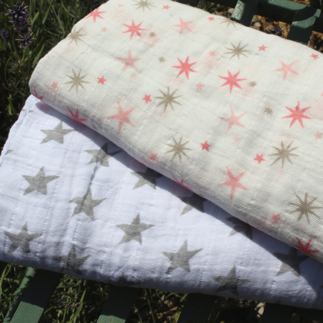 Muslin Cotton Baby Wrap image 0