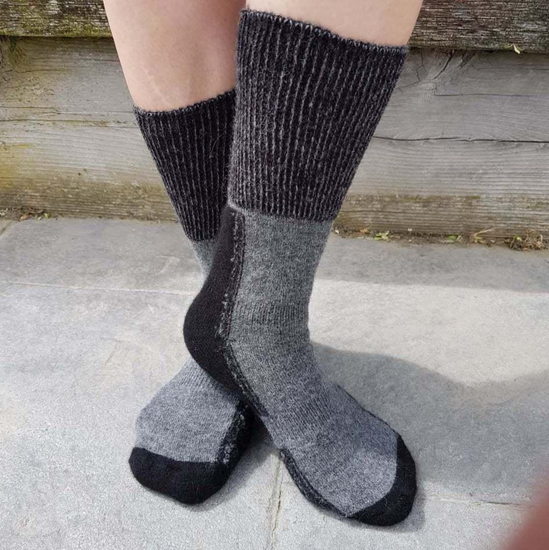 Alpaca Merino Possum Blend Comfort Socks - Unisex image 0