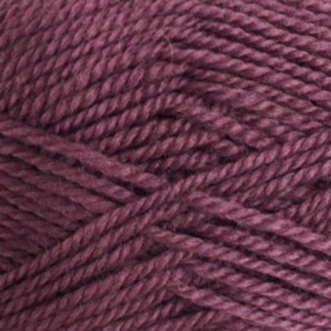 Red Hut: 100% New Zealand Wool 8 Ply Yarn - Dark Lilac image 0
