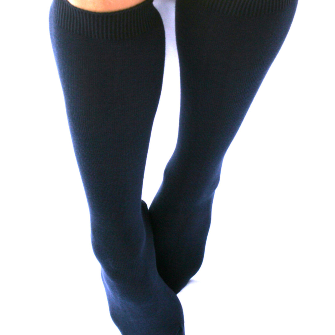 Knee High Cotton Socks image 0